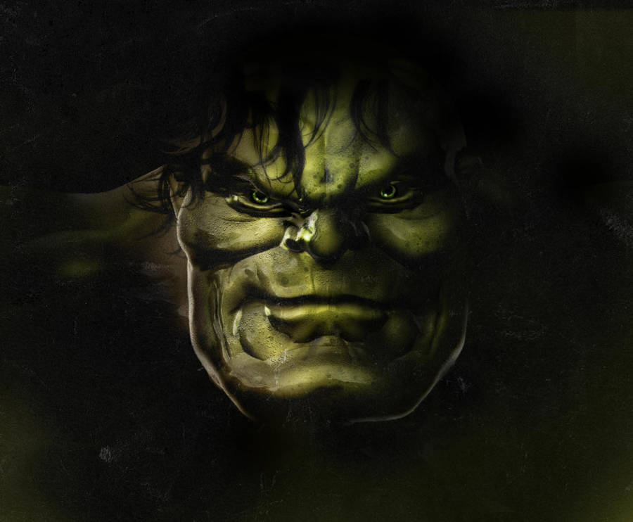 Hulk Grinning Fan Art